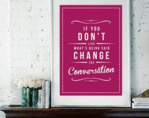 conversation.